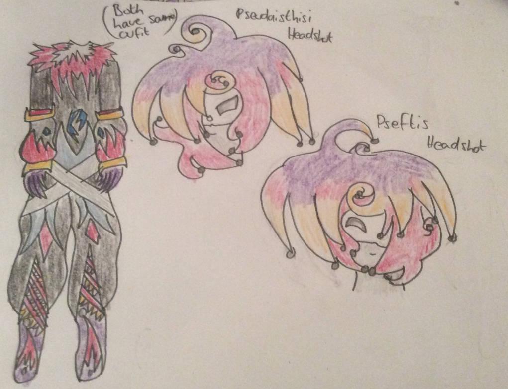 CrimsonEternals OCs Trickster Twins by PurpleGuytheKiller