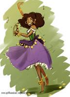 Esmerelda Sketch by MarionetteDolly