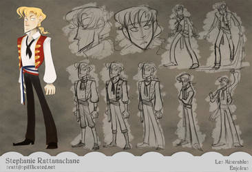 Les Miserables - Enjolras by MarionetteDolly