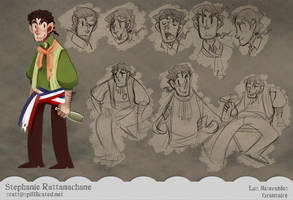 Les Miserables - Grantaire by MarionetteDolly