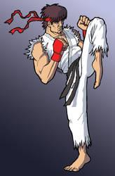 Ryu by ralphenstein