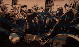 Riot by ralphenstein