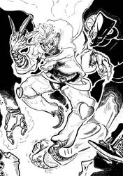 Dio and The World by AUREXLEMANDARIN
