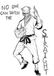 The Straight by AUREXLEMANDARIN