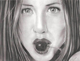 Jennifer Aniston by artmapassion