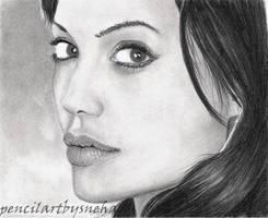 Angelina Jolie by artmapassion