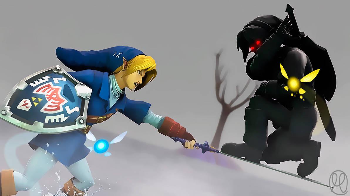 dark link minecraft skin