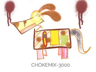 [Oc]Chokemix-3000 by Small-Penguin