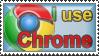 I use Chrome by Supuhstar