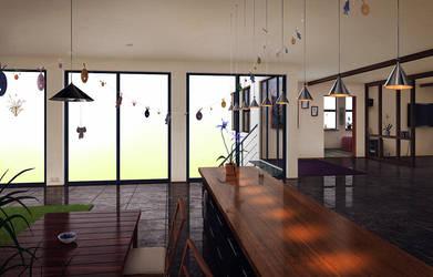 Livingroom by algenpfleger