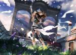 MtG: Angelic Destiny by algenpfleger