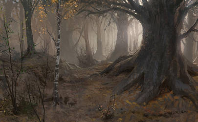 Autumn in Ganymede by algenpfleger