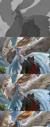 MtG: Restoration Angel - Steps by algenpfleger
