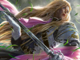 MtG: Thalia, Heretic Cathar Promo by algenpfleger