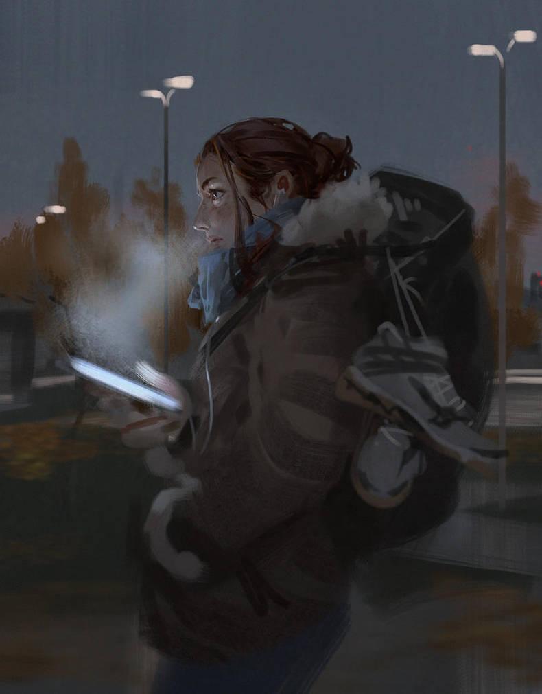 Cold Breath by algenpfleger