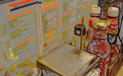 Waffle House by lemonbar77