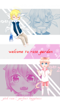 [Closed thx!] rose garden #3 by Ichi-2-zero