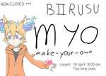 Free myo  :.BIIRUSU.: (closed) by Ichi-2-zero