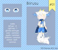 [Closed thx!] CS biirusu # 1 by Ichi-2-zero