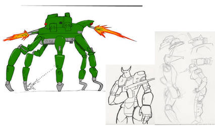 Just Another Mech Study by Ignatz20xx
