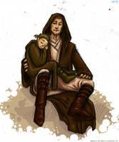 Anakin and Obi-Wan by katie8787