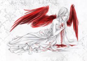 Fallen angel by zsofiadome