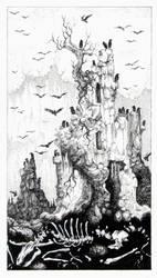 Tarot - 16 The Tower by zsofiadome