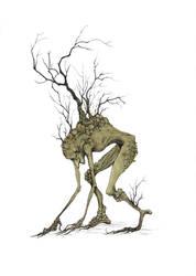 Tree creature by zsofiadome