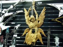 Angel Guitar ESP by Kabiedude