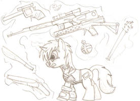 Fallout Equestria: Littlepip by Howard59rus
