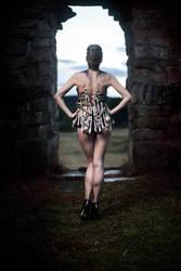 Bones Corset- Glamour Photo Shoot by Ida-Astero