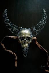 Skull Mask by Ida-Astero