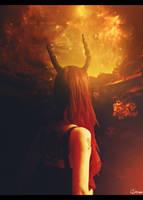 Demongirl by clorain