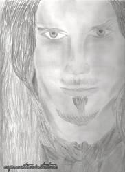 Tuomas Holopainen - Portrait of an Ocean Soul by ErynneArt