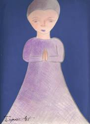 Purple Prayer by ErynneArt
