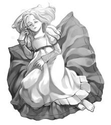 Sleeping beauty by MIMIZeli