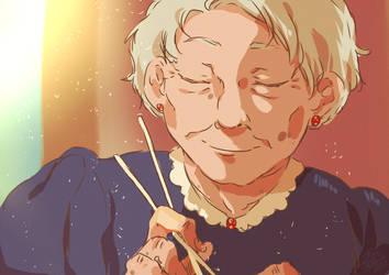 Grandma by MIMIZeli