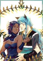 [COM] Minami and Nanti by MIMIZeli