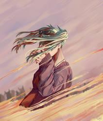 Hatsune Miku - Sand Planet by MIMIZeli