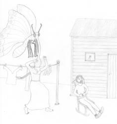Giant Butterfly of Death by JarlFrank