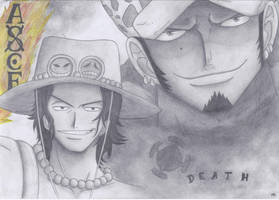 Ace and Law (Birthday present) by Sh1roYasha