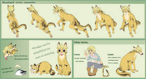 Mustard Ref Sheet by Goldthecat