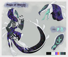 Page of Wands - Itris [Ethrens MYO] by Goldthecat