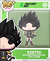 POP! Cuties 013: Dietto (@FullMetalPanicAttack) by Waltodile