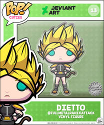 POP! Cuties 013: Dietto (Ltd. 1) by Waltodile