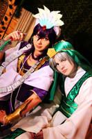 Magi - Ja'far and Sindbad by Hakaina-san