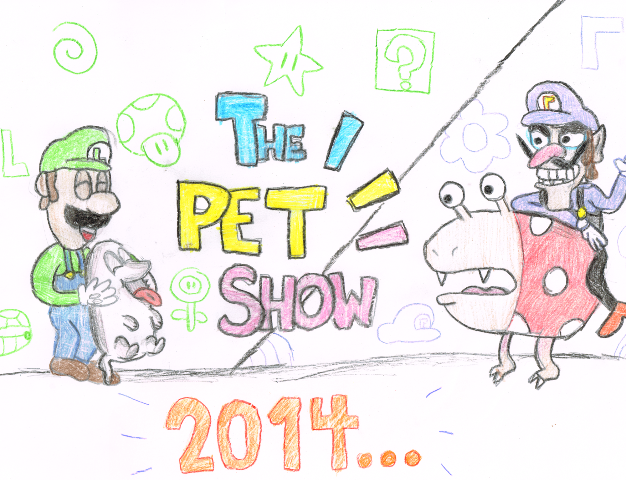 ''The Pet Show'' Teaser by marioluigiplushbros