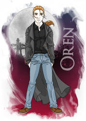 Legacy of Ghosts: Oren by pandora-6666