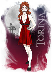 Legacy of Ghosts: Torina by pandora-6666