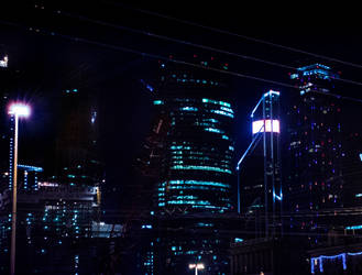 Night city by Avriad